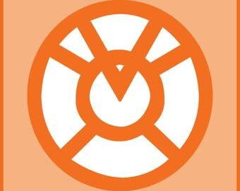 Orange Lantern Symbol