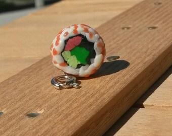 California Roll Sushi Charm