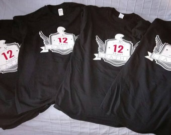 12 Gauge Leather T Shirt