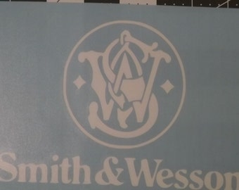 Smith & Wesson Vinyl Decal