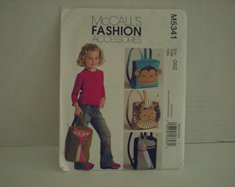 McCalls Backpacks Pattern