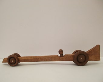 Handmade Wooden Dragster Design Car RefDR2