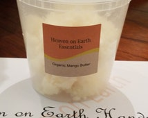 8OZ Raw-Pure/Refined Ivory Mango Butter-Perfect for Body Butters! Premium Quality.Cold Pressed.