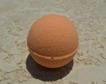 Mango Sorbet Bath Bomb/Moisturizing/Detoxifying