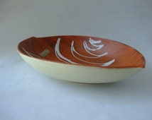 Carstens Tonnieshof: Vintage West German Pottery Dish - 1058