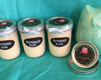 Buttered Rum Candle