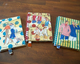 Upcycled Clothing Pattern Journal