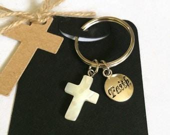Cross Faith Religious Keyring Gift