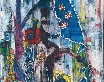 Sails - Abstract Art