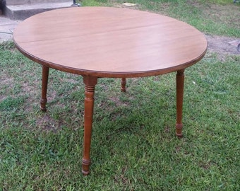 tell city hard maple kitchen table 8163 andover maple - Maple Kitchen Table