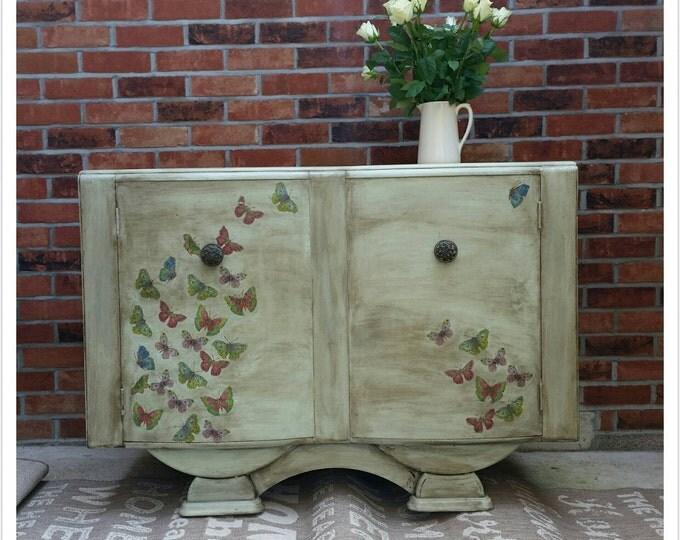 SOLD Re-designed Vintage Sideboard