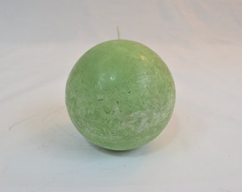 Green Sphere Candle