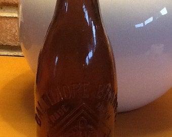Vintage Baltimore Branch Amber Beer Bottle