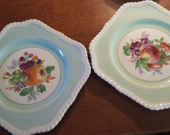 SALE:  Set of 2 Old English Johnson Bros. plates
