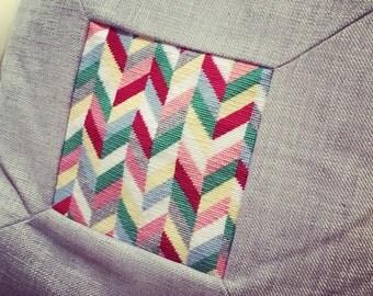 Colourful Chevron Needlepoint Tapestry Kit