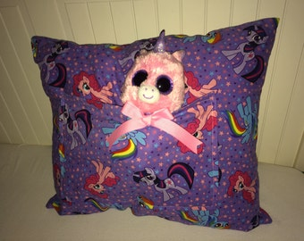My Little Pony Pillow with Pocket