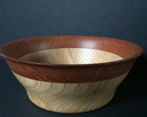Lacewood Crowned Chestnut Bowl