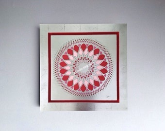 Mandala Red