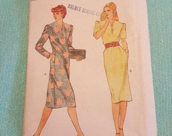 Vintage Vogue#7571 SIZE 10 UNCUT