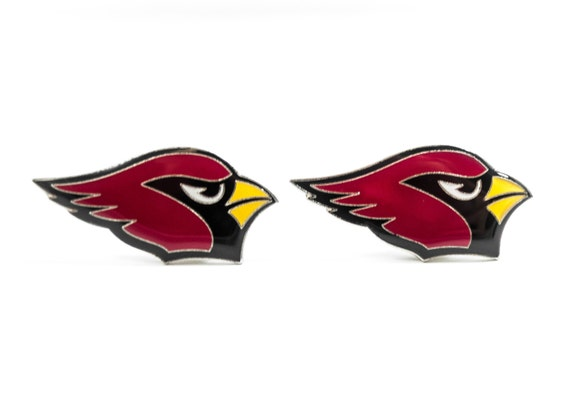Arizona Cardinals Cuff Links -- FREE SHIPPING with USPS First Class Domestic Mail