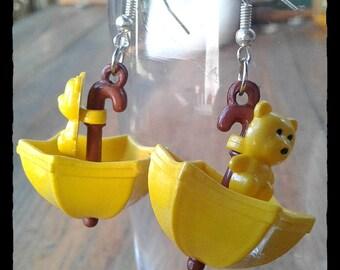 Happy Umbrellas Yellow