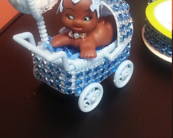 Baby blue CenterPiece Favor