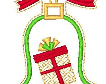 Applique Christmas with mylar sparkle  ( 31 Machine Embroidery Designs from ATW )