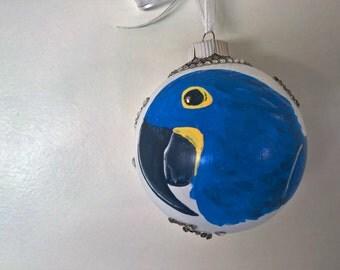Hyacinth Macaw Ornament