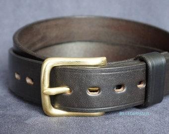 Handmade leather belts - 32 mm