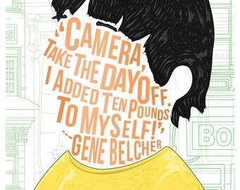 Famous Hair/ LInes: Gene Belcher