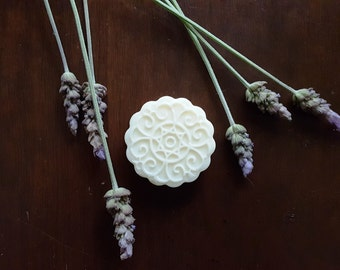 1.2 oz. Lavender Lotion Bar - Organic