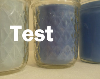 Colorful Scents Candle - 6oz Glass Jar