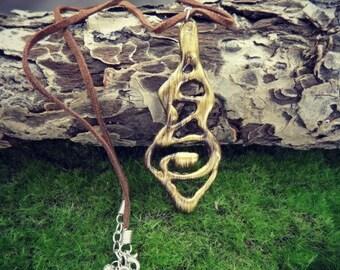 Faux Bronze/Gold Necklace