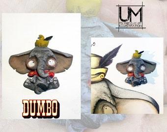Disney Dumbo creepy cute