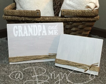 Rustic Photo Frames — With Saying!