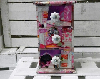 """Mini chest of drawers """"Rose"""""""