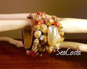 """Bracelet """"nest of snail"""""""