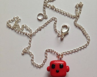 Super Meat Boy Necklace