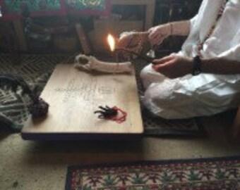 Vodou Baron Samedi Ghede Vever Altar