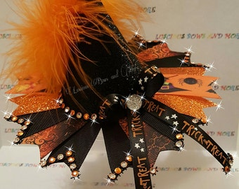 Witch Hat, Witch Hat Hair Bow, Witch Hat Bow, Halloween Witch Hat, Halloween Hair Bow, Hallween