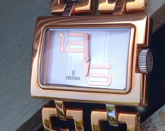 Watch FESTINA design for Lady half price