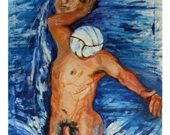 Genius, oil on canvas, 100x80