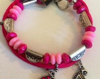 Rasberry Bracelet