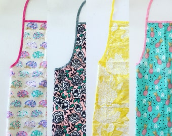 Apron One Size Cooking Mama Pineapple print