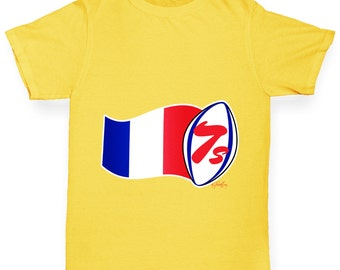Boy's Rugby 7S France T-Shirt