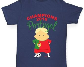 Boy's Champions 2016 Portugal T-Shirt