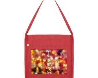 143 I Love You Tote Bag