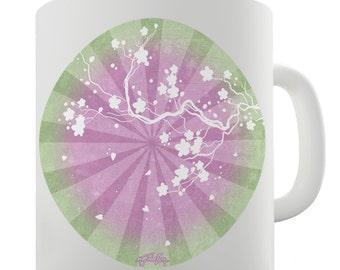 Sakura Cherry Blossoms Ceramic Funny Mug