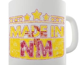 Made In NM New Mexico Ceramic Mug