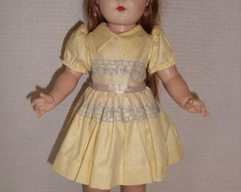 Ideal P92 Hard Plastic Toni Doll